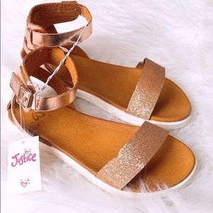 Justice Girl Sandals